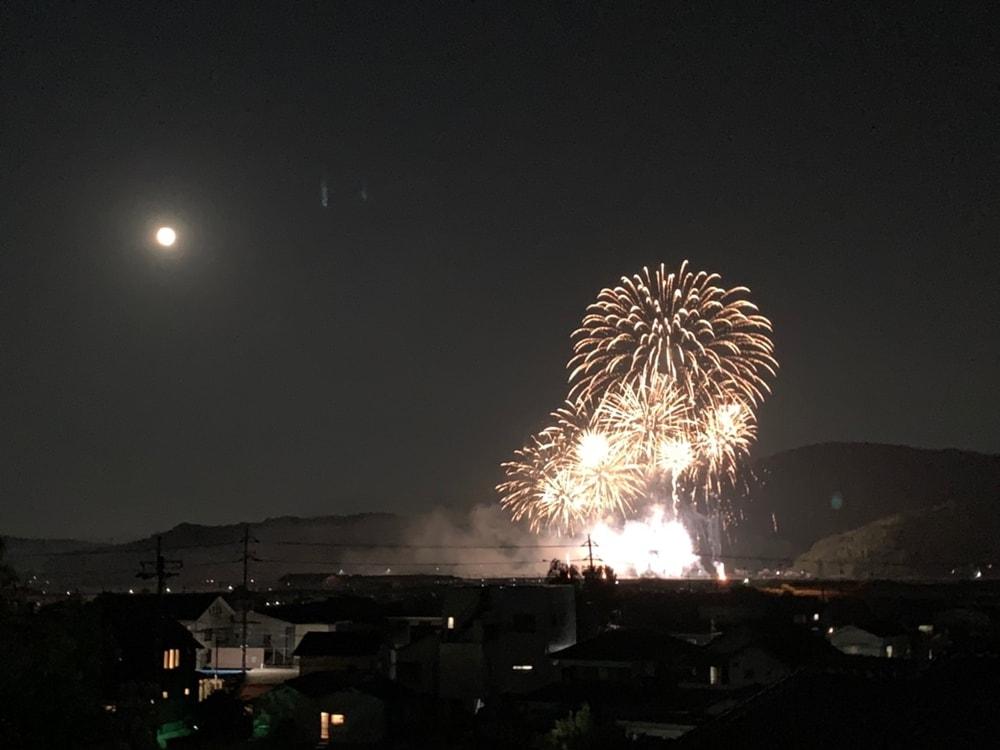 【吉備様夏祭り】花火