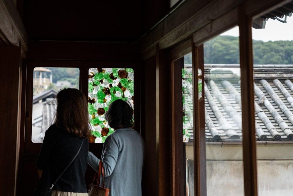 有隣荘特別公開 下道基行 漂白之碑 渚三彩の窓