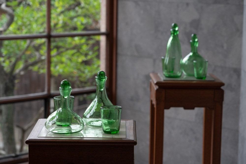 有隣荘特別公開 下道基行 漂白之碑 沖縄ガラス