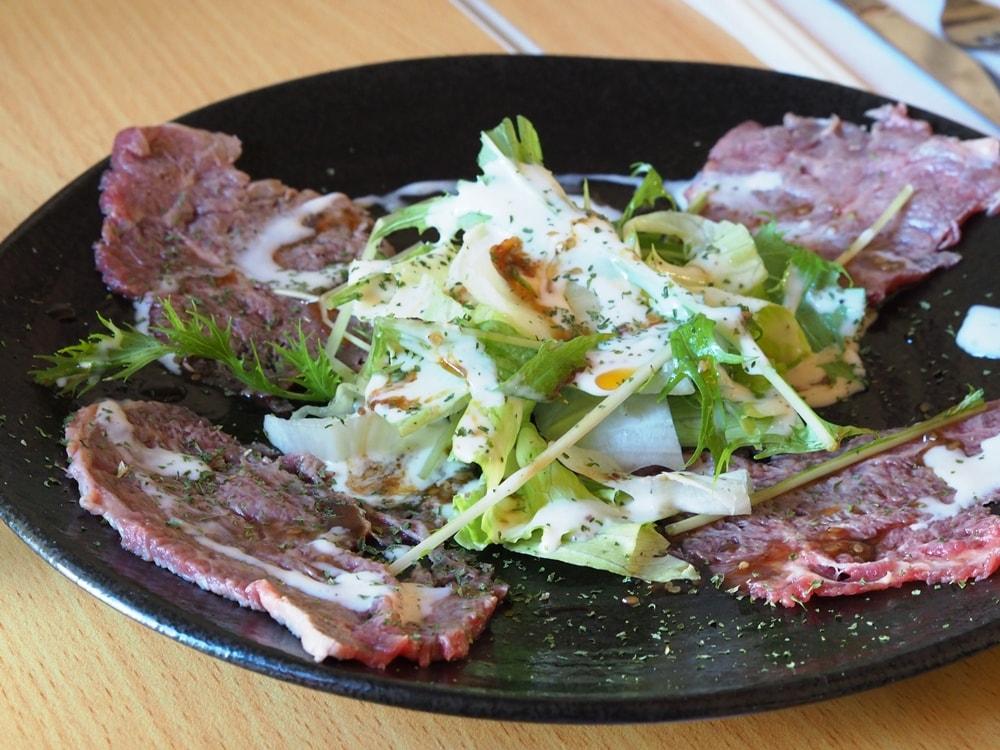 LA CASA 牛肉のカルパッチョ