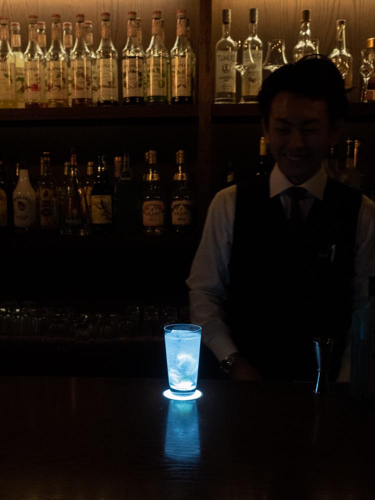 ディンプル:店内の照明