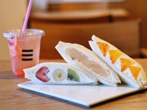 もとや(MOTOYA) ~ 地元に愛されるお店を目指して。旬の味覚たっぷり、至福のフルーツサンド専門店