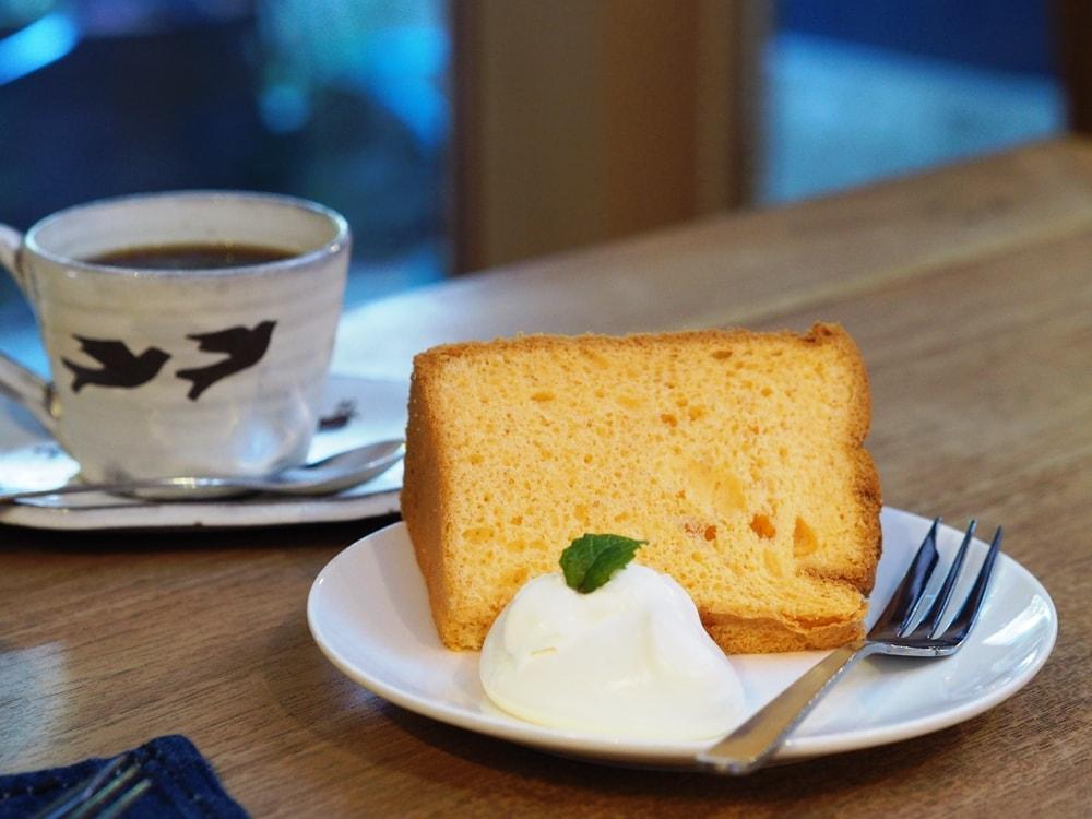 コバコーヒー シフォンケーキ