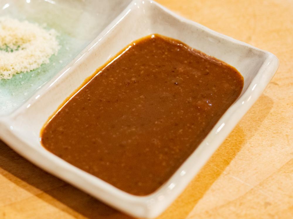 くし亭:串揚げのソース