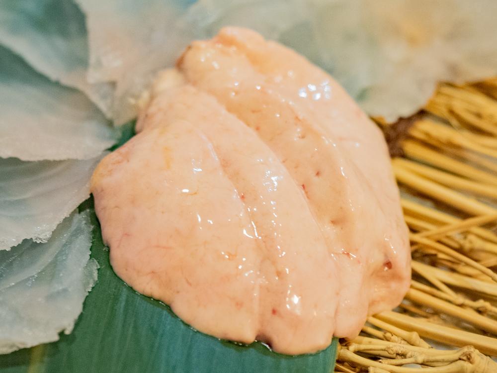 くし亭:カワハギの肝