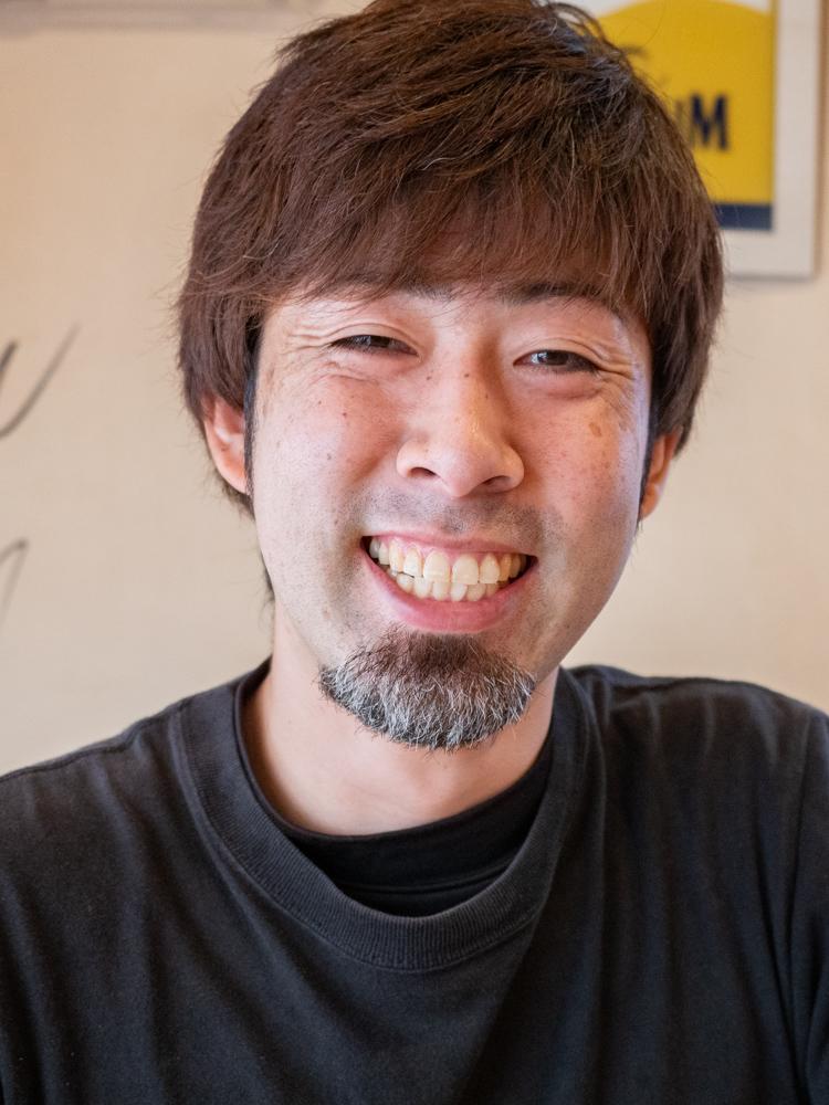 くし亭:スタッフ 鴨井 俊夫さん