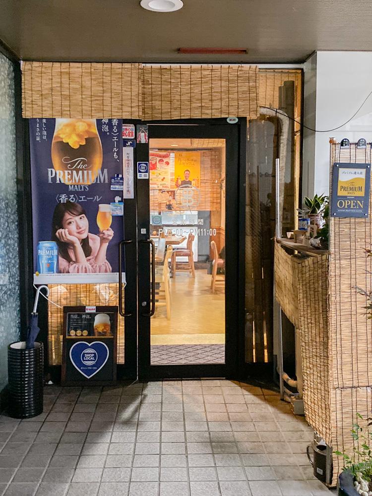 くし亭:入口