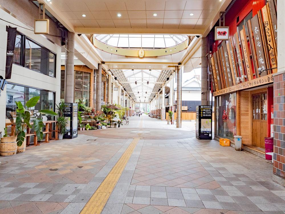 たご作への行き方:ビオス倉敷(倉敷センター街) 交差部