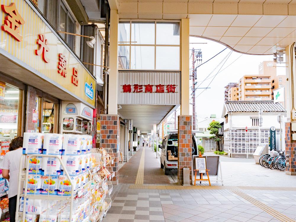 たご作への行き方:ビオス倉敷(倉敷センター街)から鶴形商店街へ