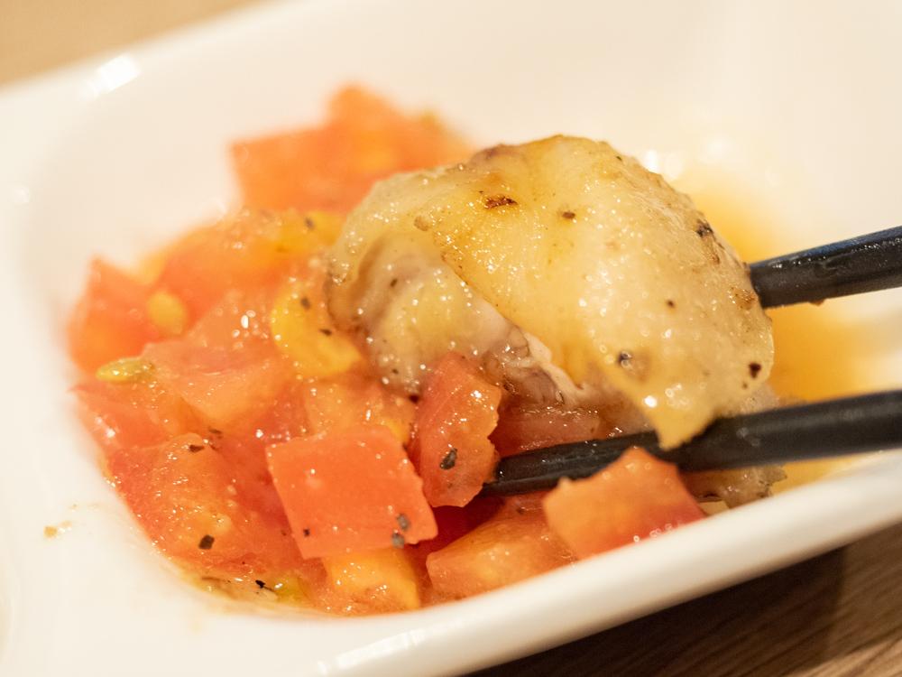 とも:ともスペシャルのフレッシュトマトソース