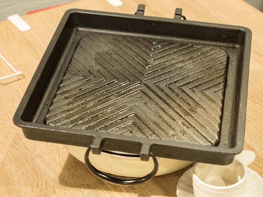 とも:焼肉用鉄板(南部鉄)