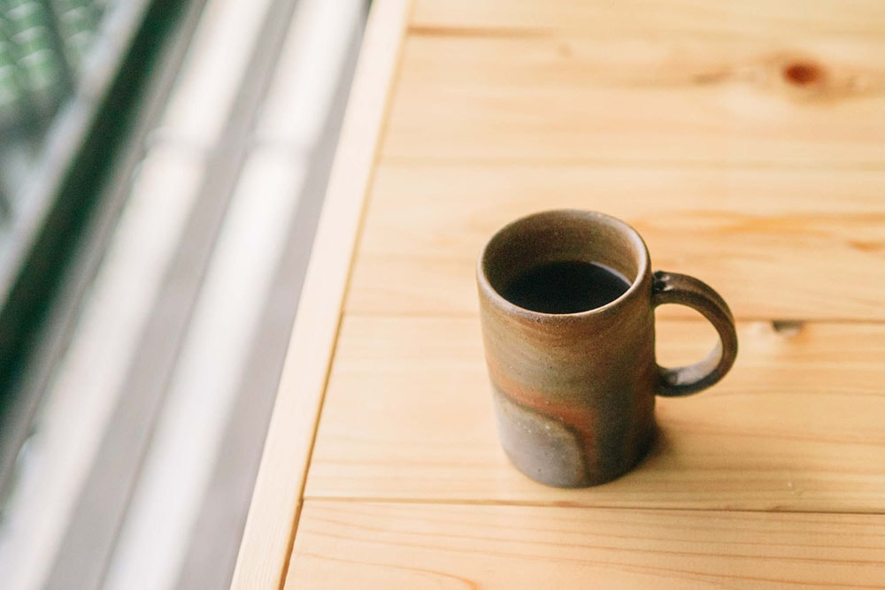 DENIM HOSTEL float コーヒー