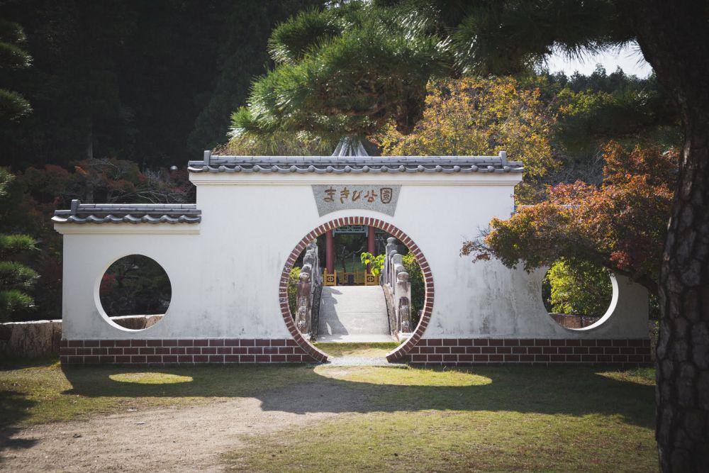 まきび公園 紅葉 2019年11月