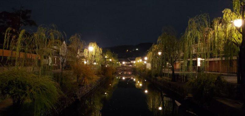 夜の美観地区