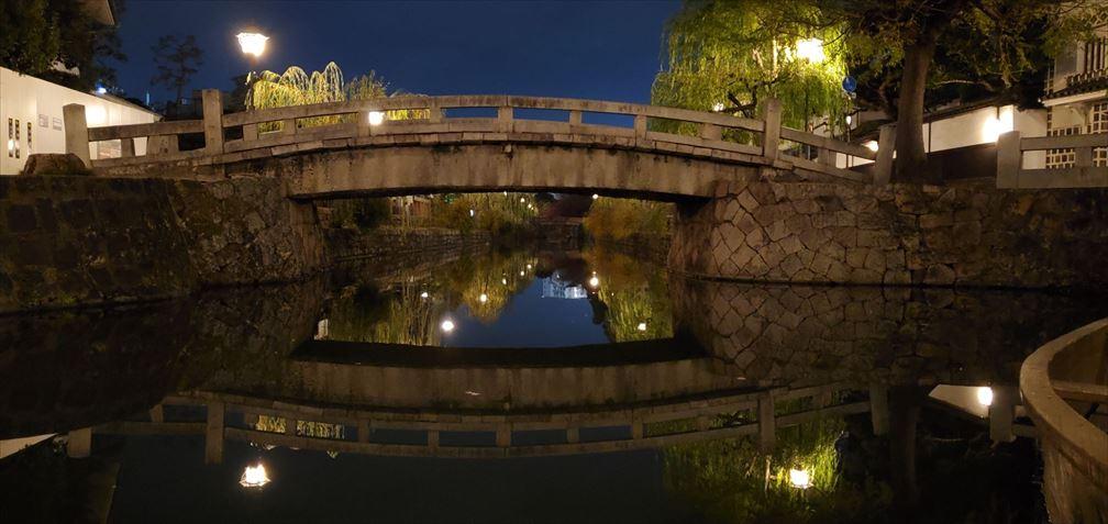 夜の美観地区ー2