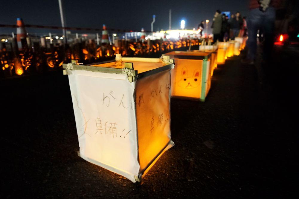 復興阿吽祭2019 竹灯籠