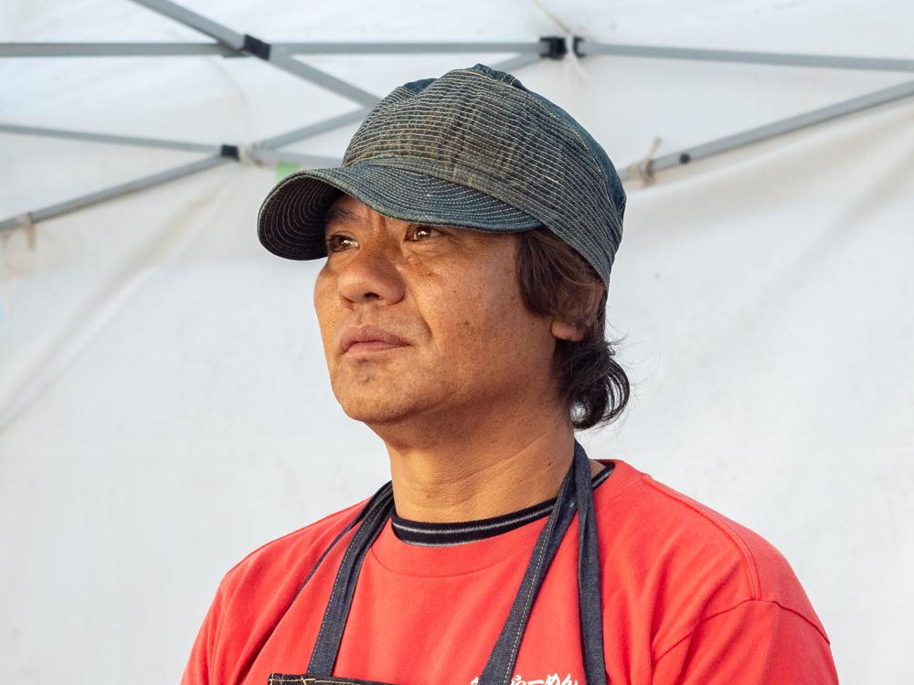 笠岡ラーメン屋台:店主・牧野 靖宏さん