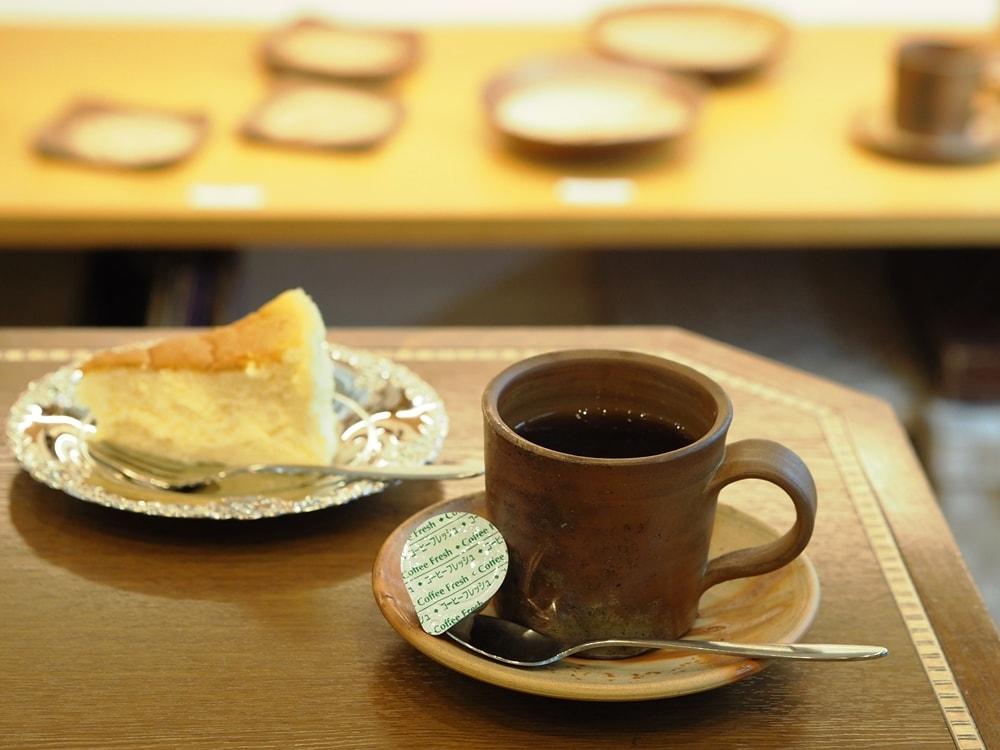 喫茶つるがた ケーキセット