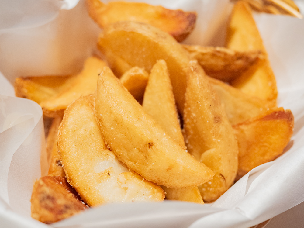お肉バー ま、いっか:フライドポテト