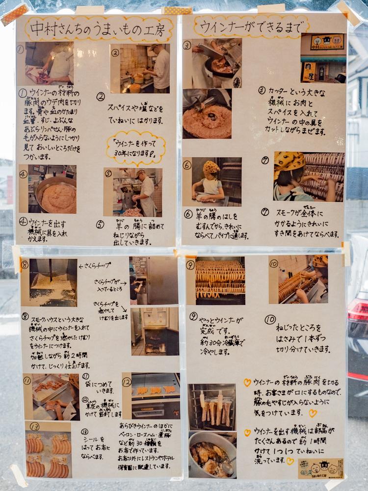 中村さんちのうまいもの工房:ウィンナーができるまで