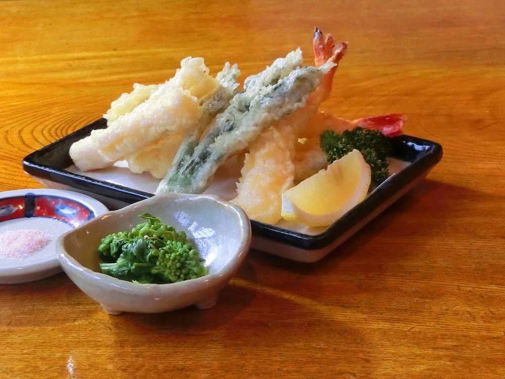 すぎ茶屋:天ぷら盛り合わせ