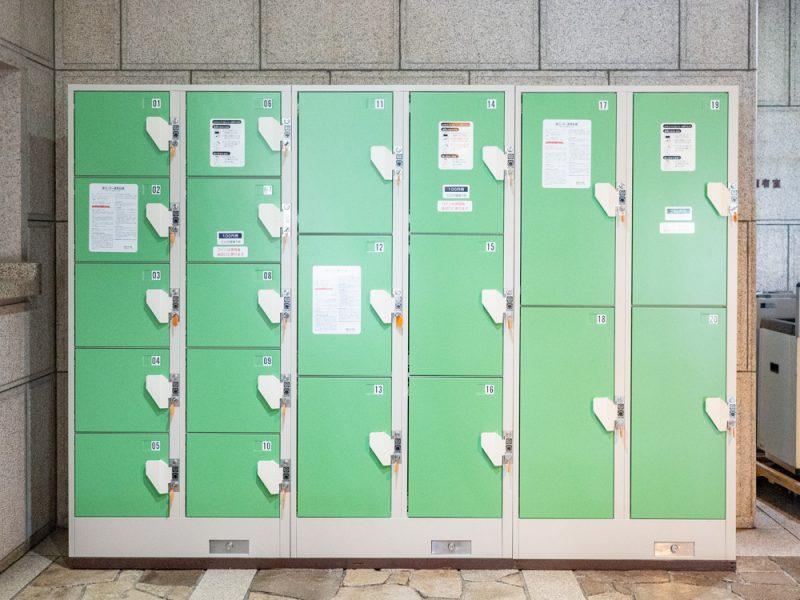 倉敷美観地区周辺のコインロッカー:倉敷市民会館