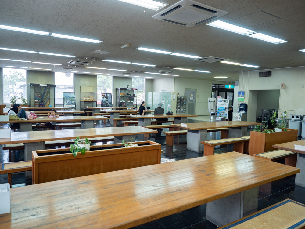倉敷美観地区周辺のトイレ:倉敷私立自然史博物館内 倉敷市観光休憩所