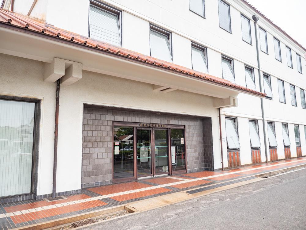 倉敷美観地区周辺のトイレ:倉敷私立中央図書館