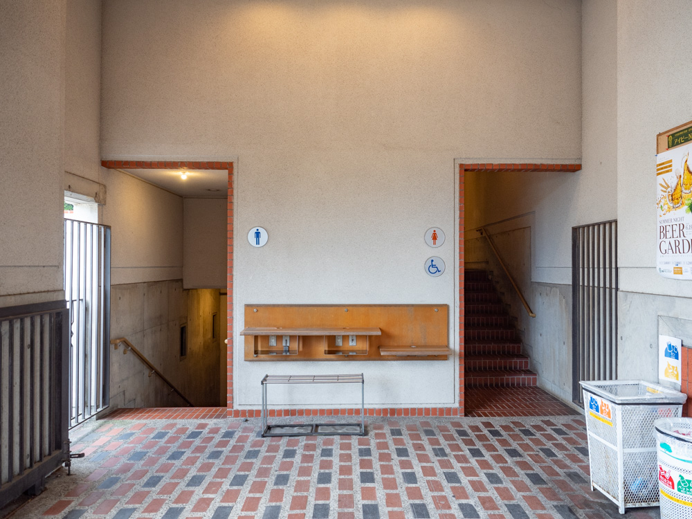 倉敷美観地区周辺のトイレ:倉敷アイビースクエア別館 フローラルコート