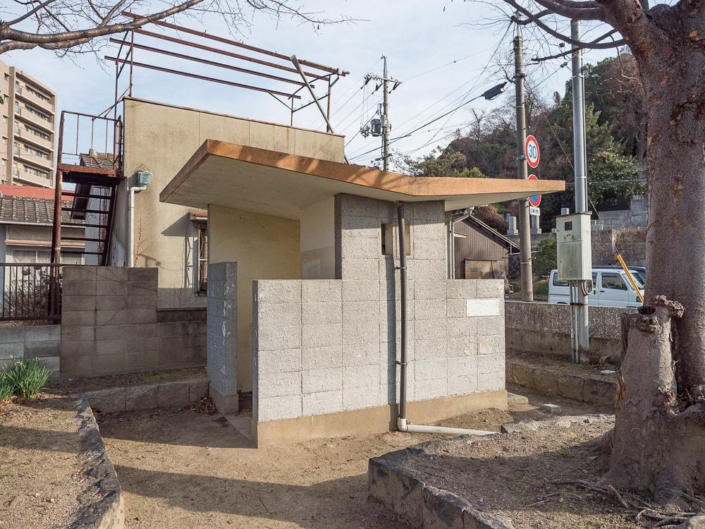 倉敷美観地区周辺のトイレ:鶴形2丁目公園
