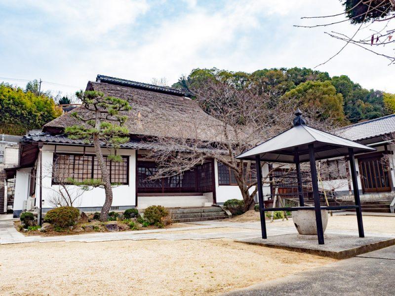 長連寺 〜 倉敷代官や良寛ゆかりの古い寺院。美観地区の南に静かにたたずむ