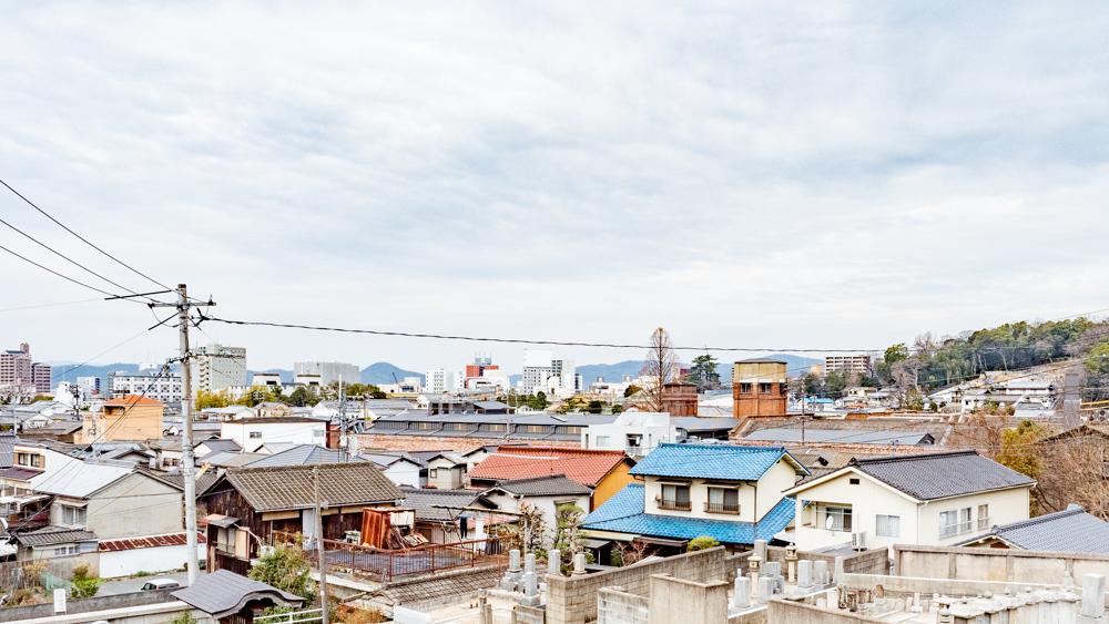 長連寺:境内からの眺望