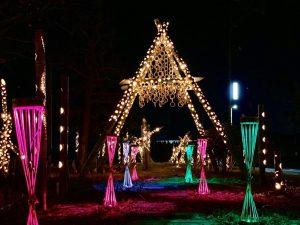 まび復興竹あかり2019(令和元年12月13日~令和2年1月12日) ~ あたたかい光が真備のこれからを照らす