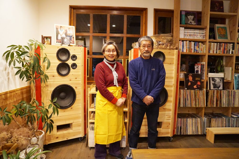 COFFEE HOUSE ごじとま 髙本明英さんと由美子さん