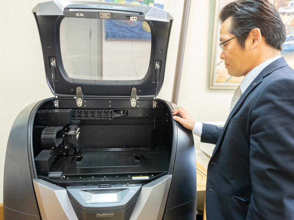 FabLab倉敷水島:高精細3Dプリンター