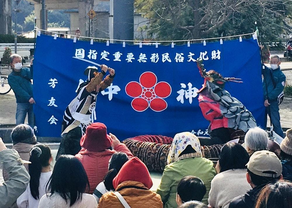 【福幸祭】備中神楽