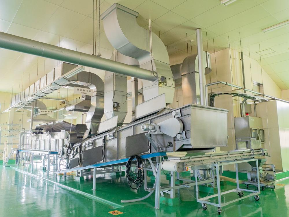 平喜酒造:黎明蔵 自動蒸米機
