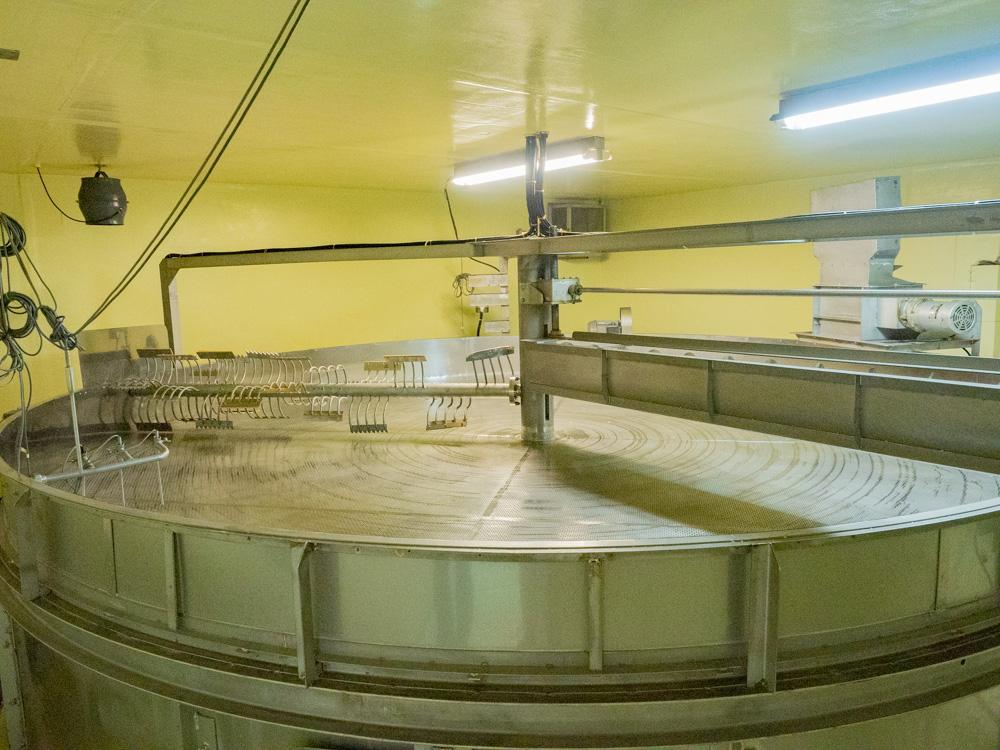 平喜酒造:黎明蔵 自動製麹機