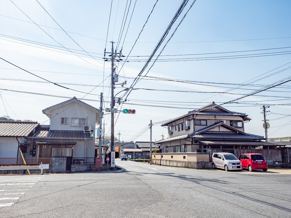 平喜酒造への行き方:県道64号線「鴨方町新町」交差点