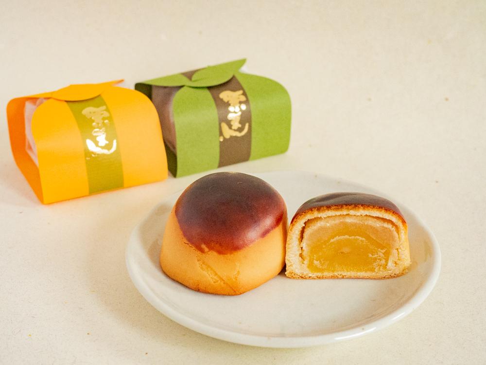 橘香堂:栗まん