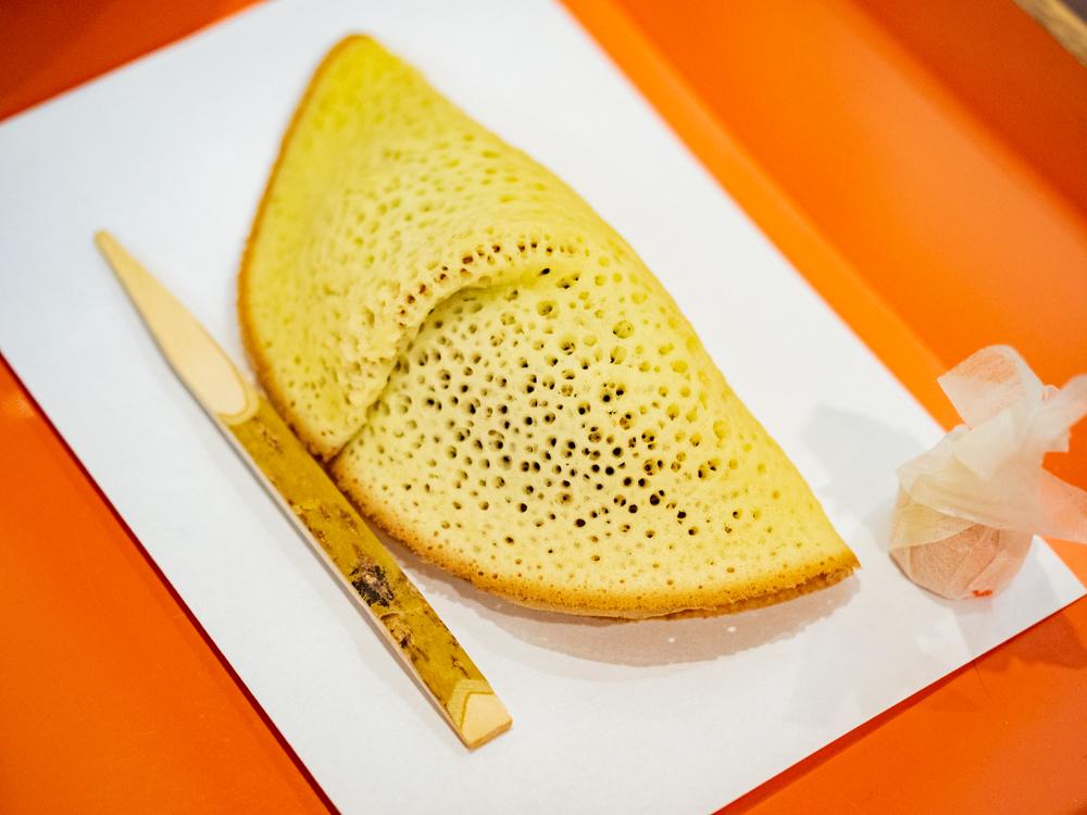 橘香堂:美観地区店 喫茶コーナー メニュー 抹茶とむらすゞめのセット