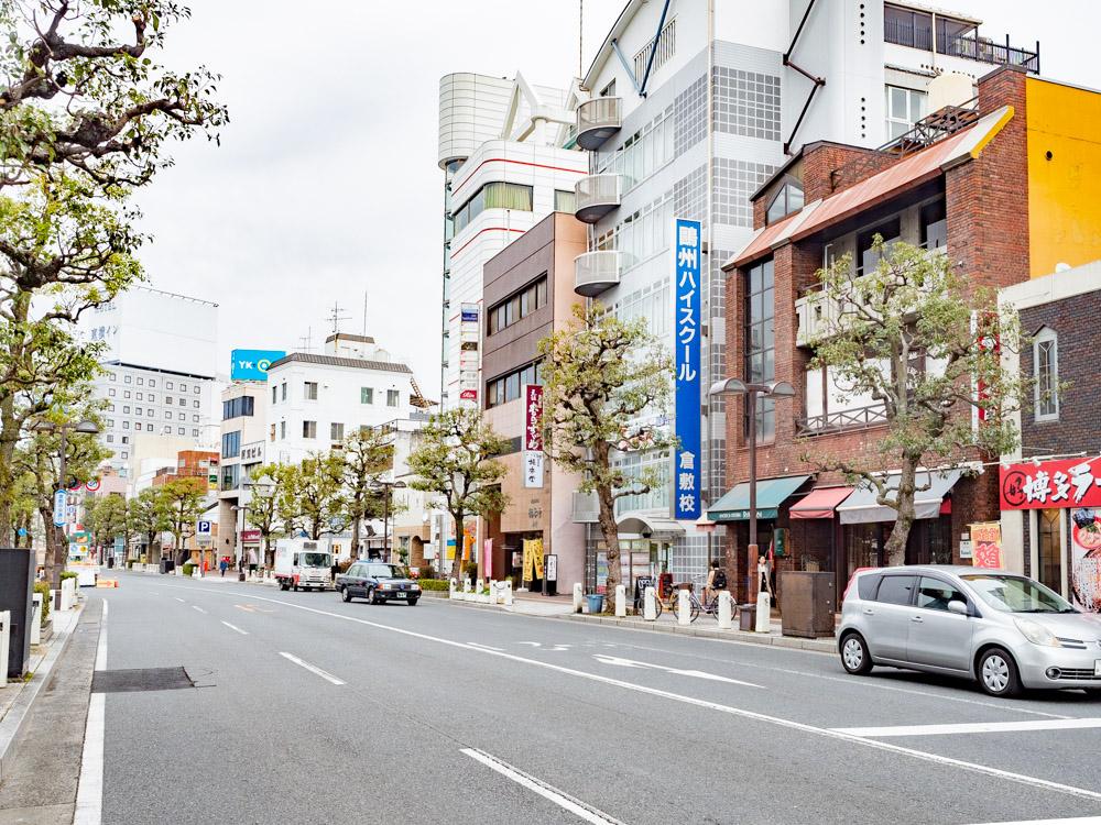 橘香堂:倉敷中央通り