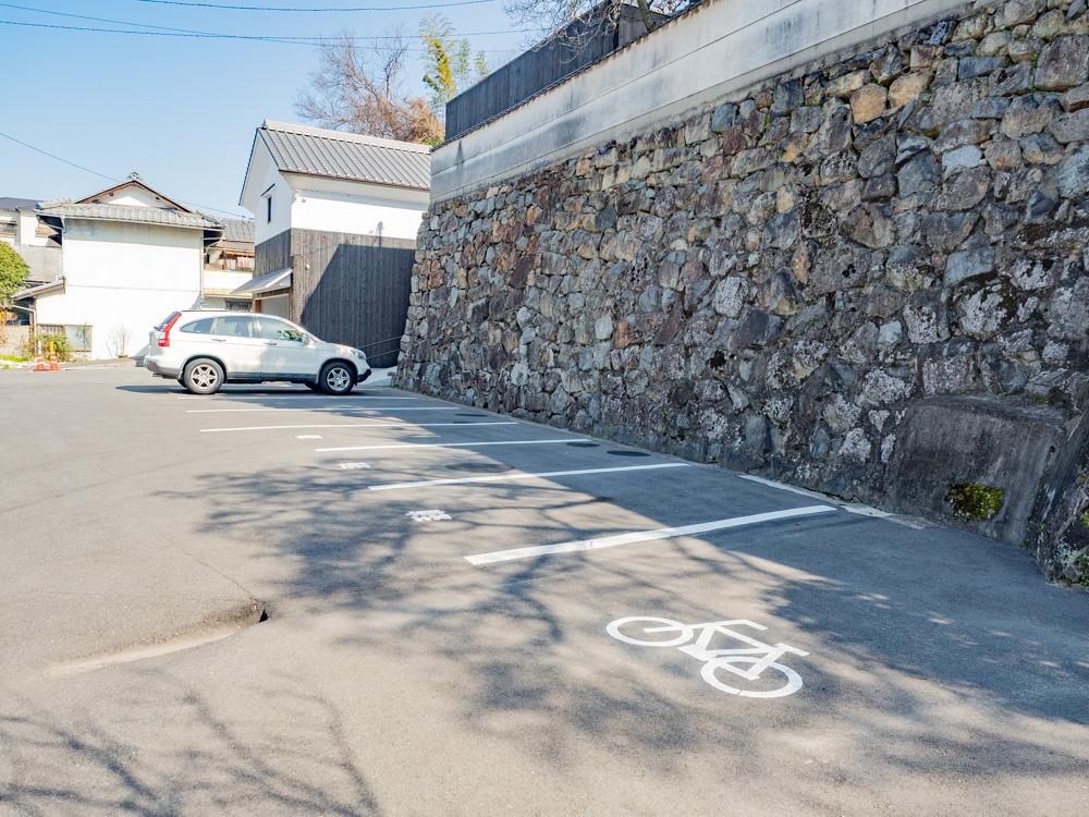 教善寺:駐車場