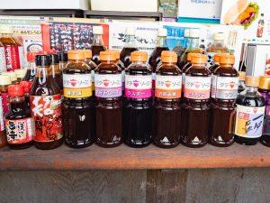 豊島屋 〜 伝統の味を守る「タテソース」。定番ソースから「超・激辛ソース」「料亭だし」まで幅広く展開