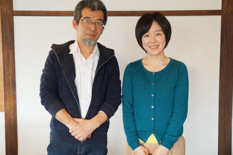 森田美紀さんと小林恭一郎さん
