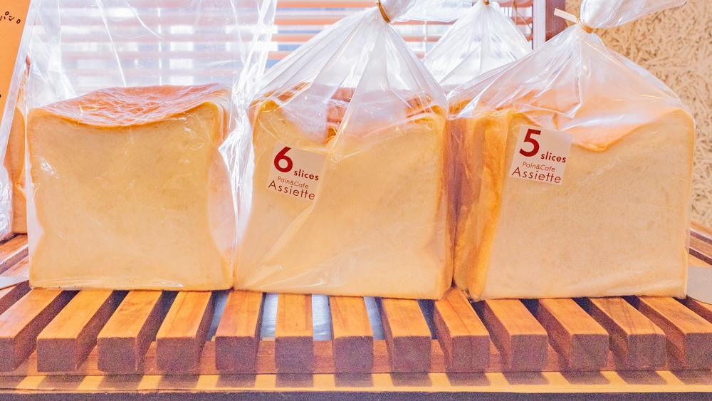 アシェット:国産小麦の角食パン