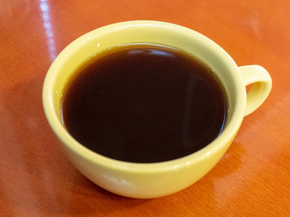 アシェット:カツサンドモーニングのドリンク(コーヒー)