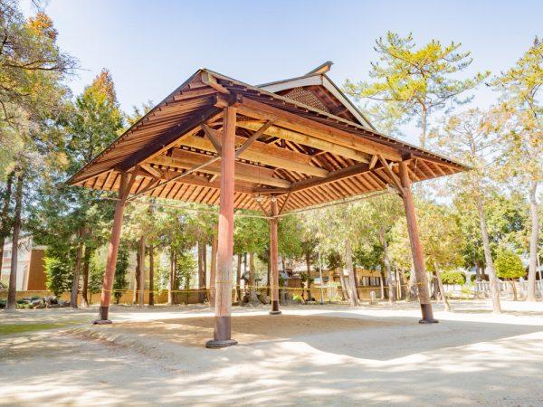 春日神社 〜 江戸時代初期に創建された旧倉敷三大社のひとつ。子供奉納相撲は地域の風物詩