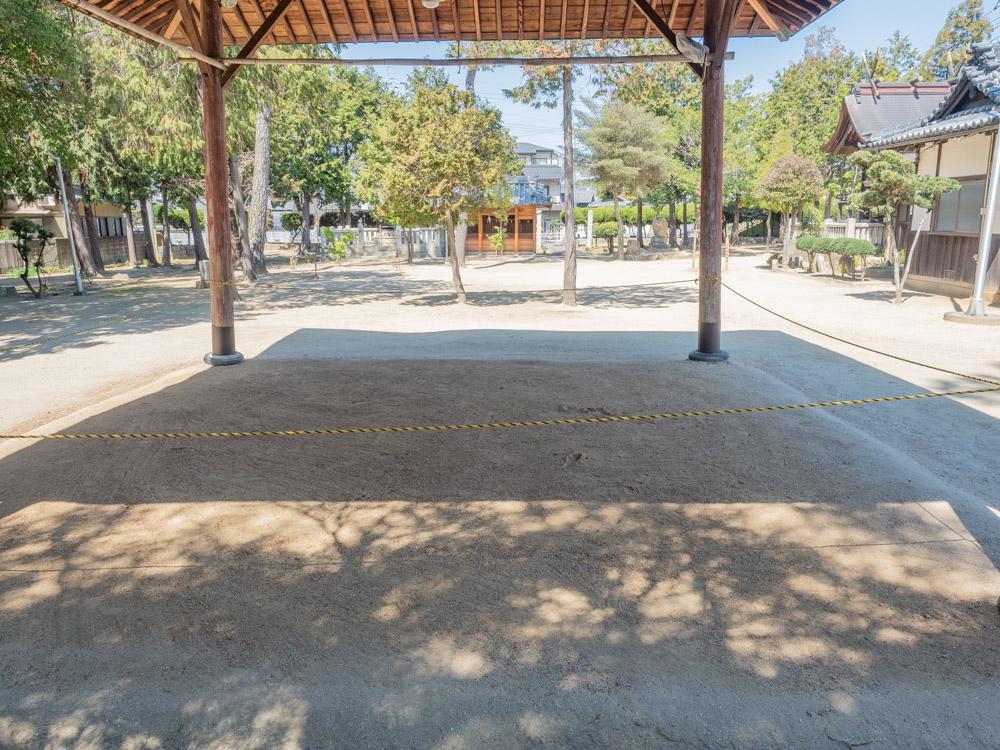春日神社:相撲場
