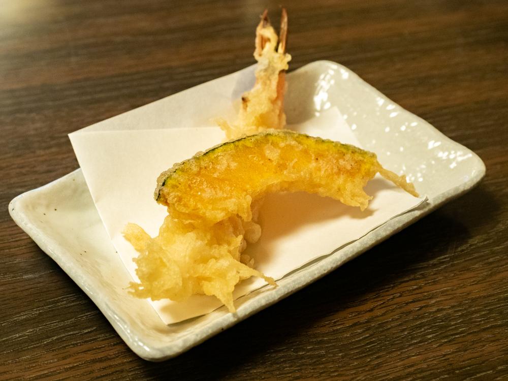 おおにし:天ぷら